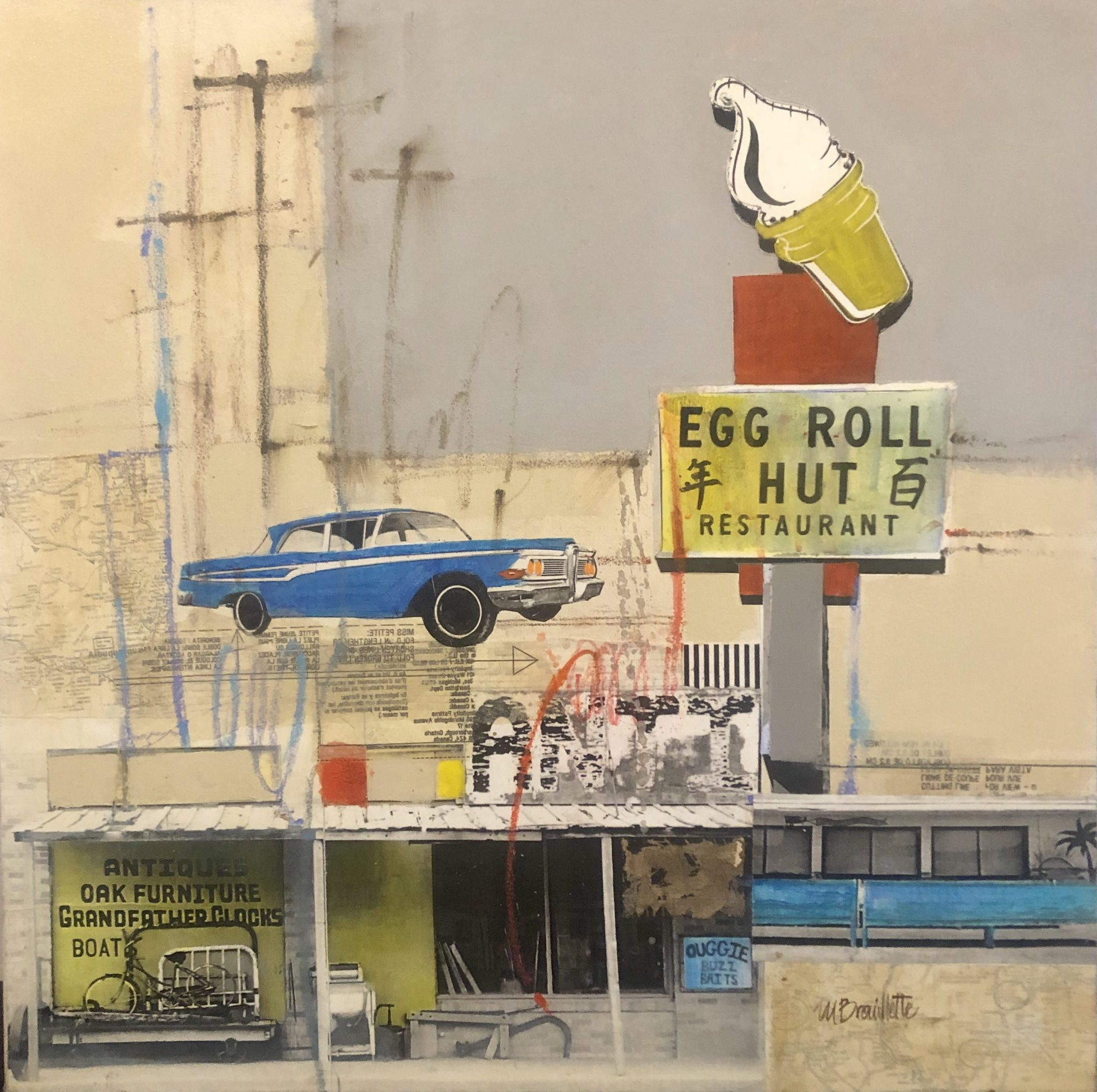 Egg Roll Hut by Maureen Brouillette